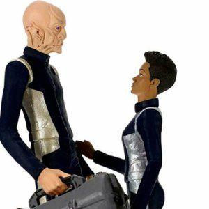 Commander Saru and Michael Star Trek Hallmark